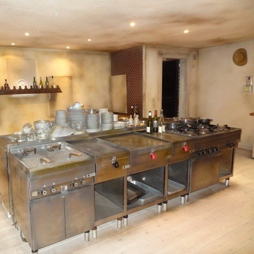 The Abandoned Kitchen
