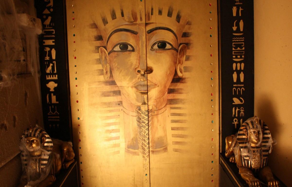 De piramide van farao Amasis
