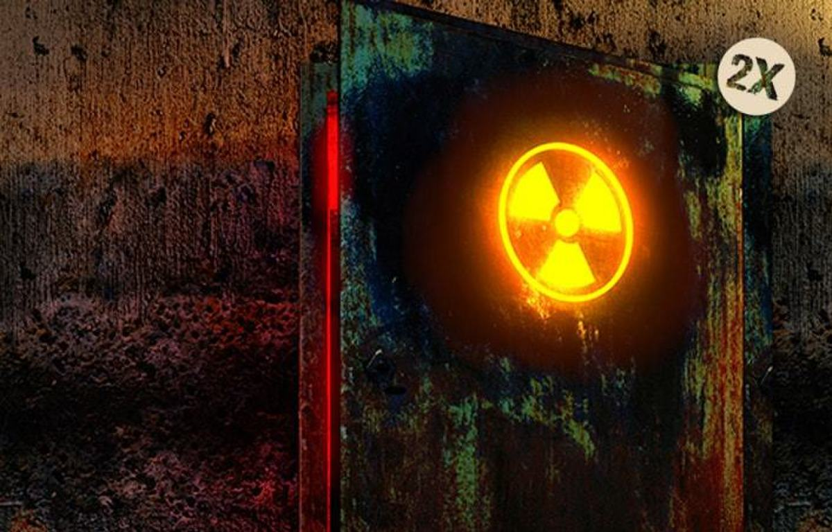 Militaire Bunker - Nucleaire Bom