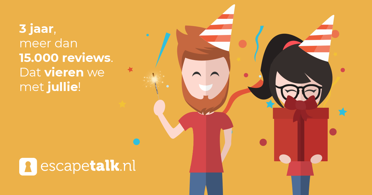 Escapetalk.nl 3 jaar!