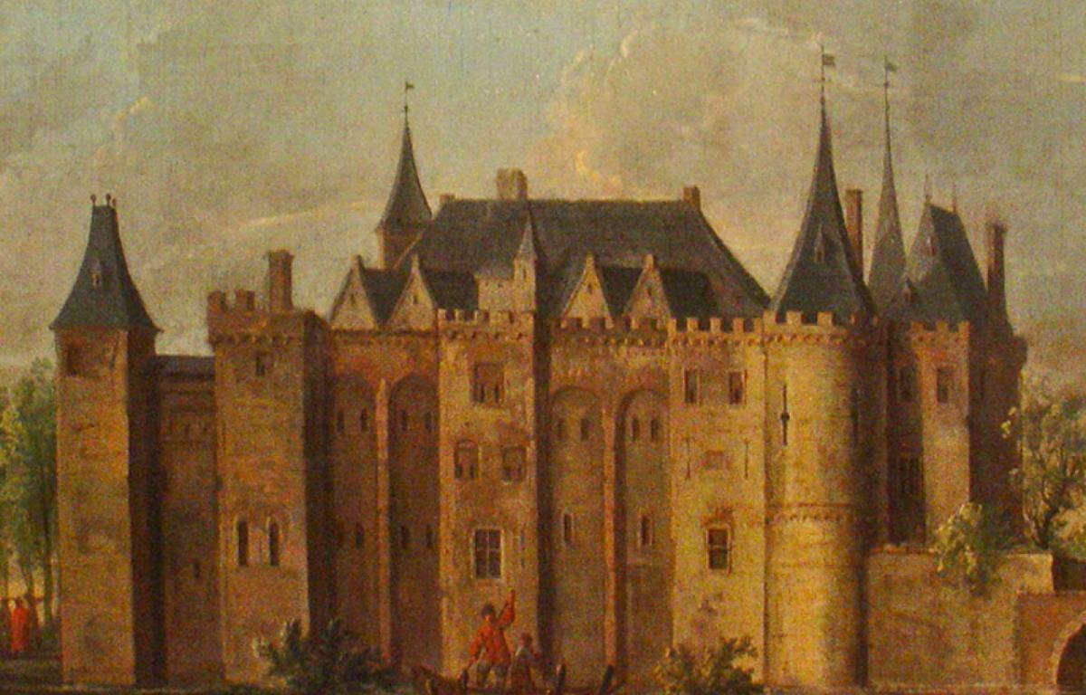 Het verdwenen kasteel van Gouda