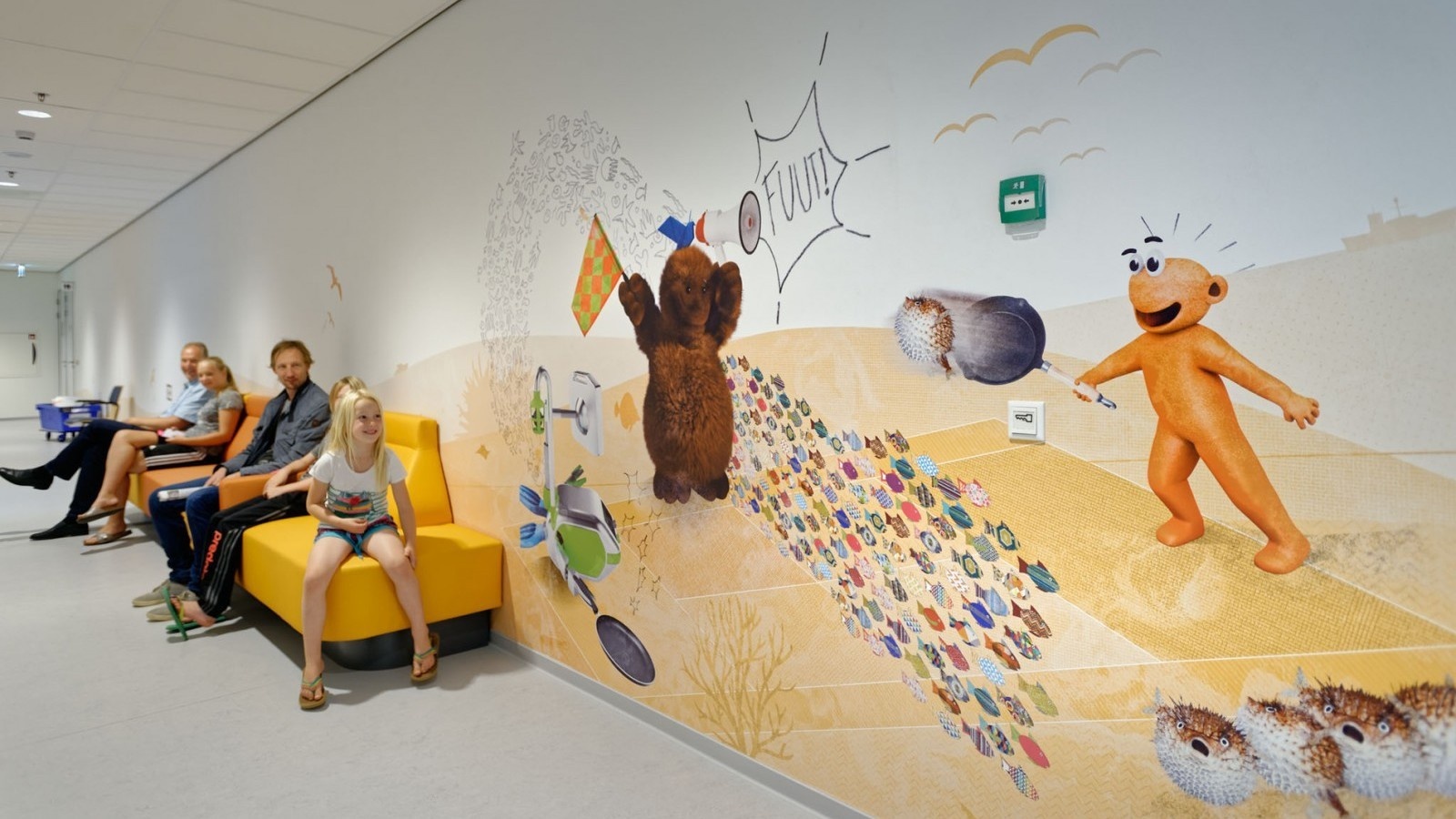 Experience Juliana children's hospital | Ontwerp: Tinker Imagineers