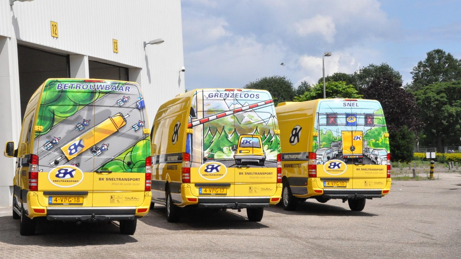 Busbeletteringen BK Sneltransport