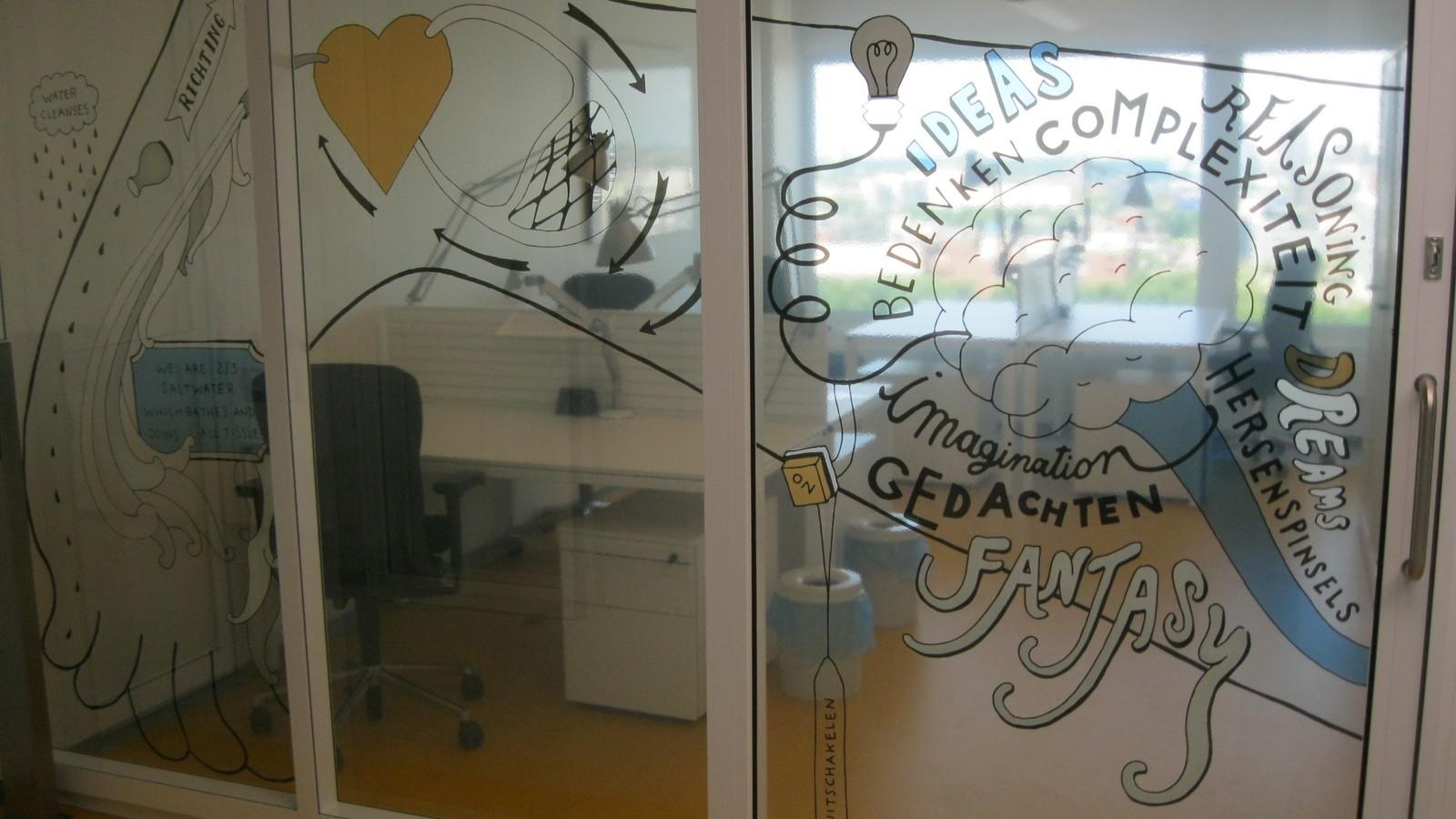 AMC Amsterdam, afdeling kinderoncologie | Ontwerp: Opera Amsterdam