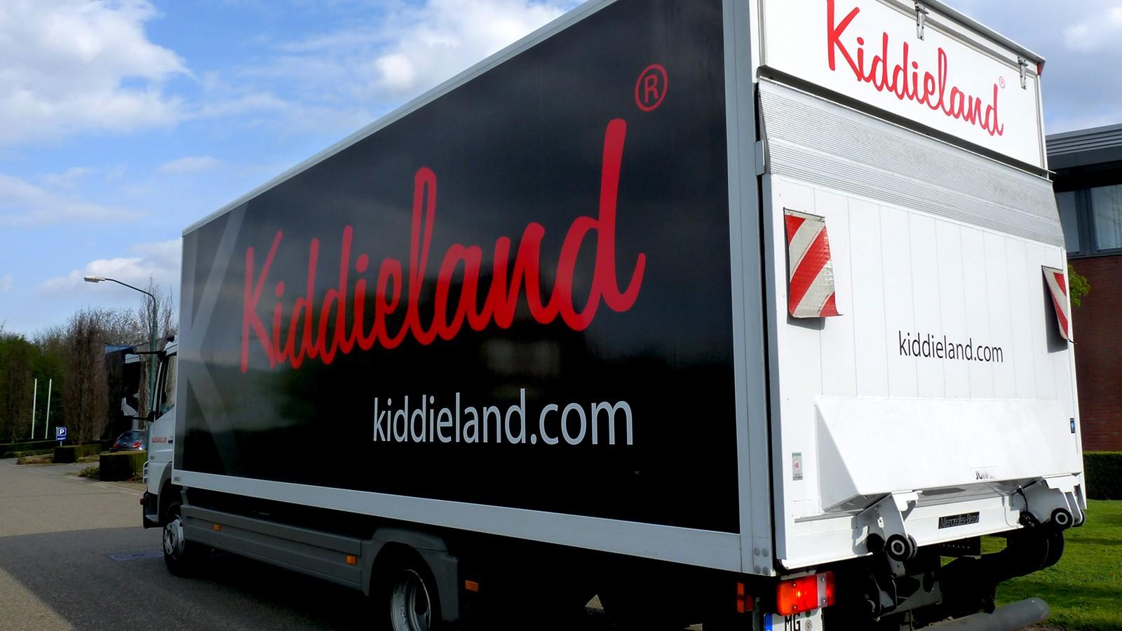 Vrachtwagen Kiddieland