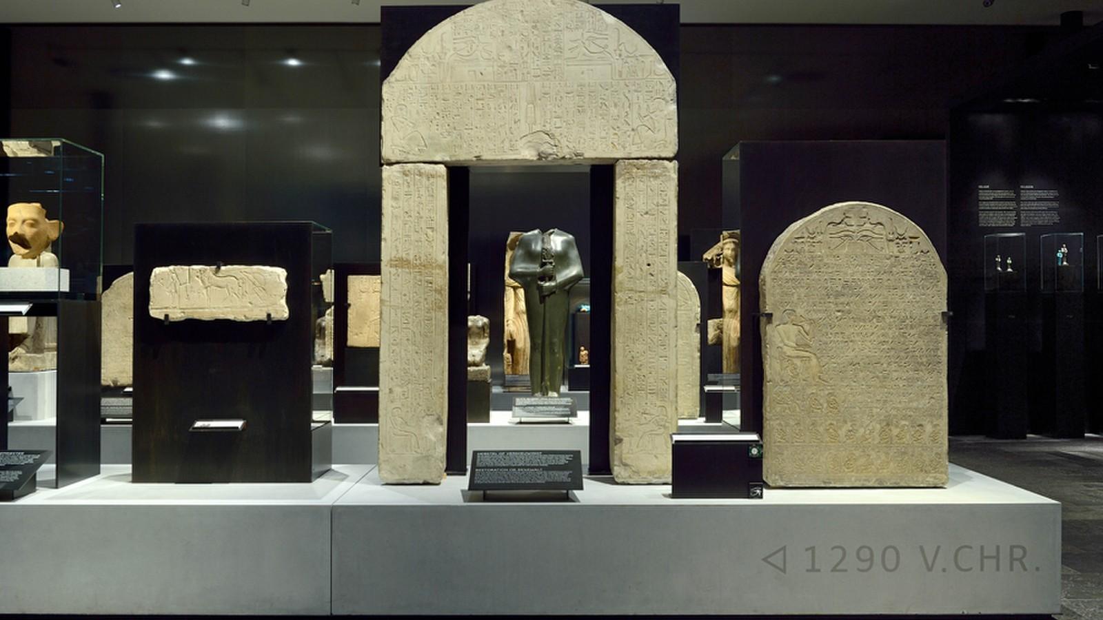 Rijksmuseum van Oudheden | Tentoonstelling Egypte | Ontwerp: Kinkorn