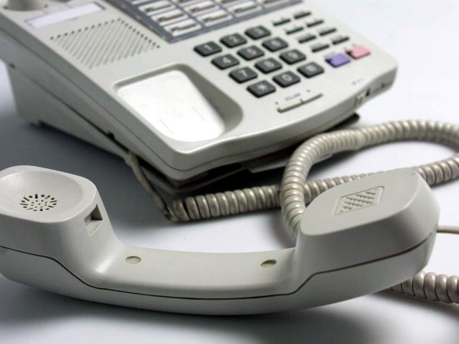 Dinsdagmiddag 7 november telefonisch niet bereikbaar
