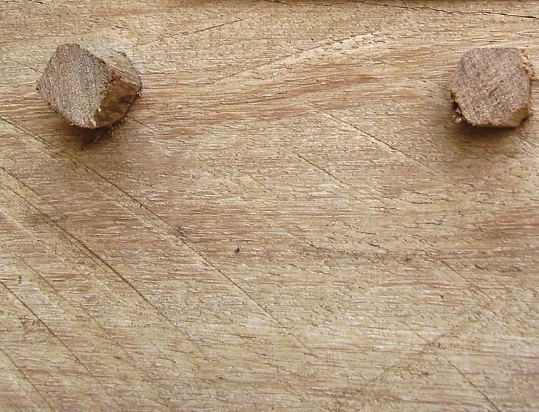 Blog Bevestigen met houtproppen