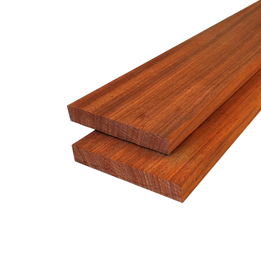 Sehr Padouk - Diele, Glattgehobelt (21x143mm) - GevenHolz - Robustes Holz UW88