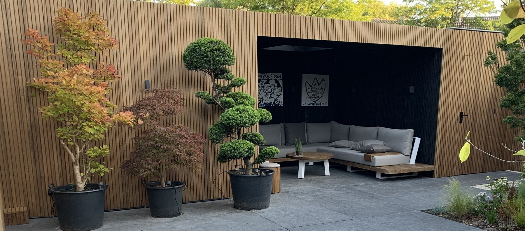 Blog Inspiratie: Thermohout in je tuin