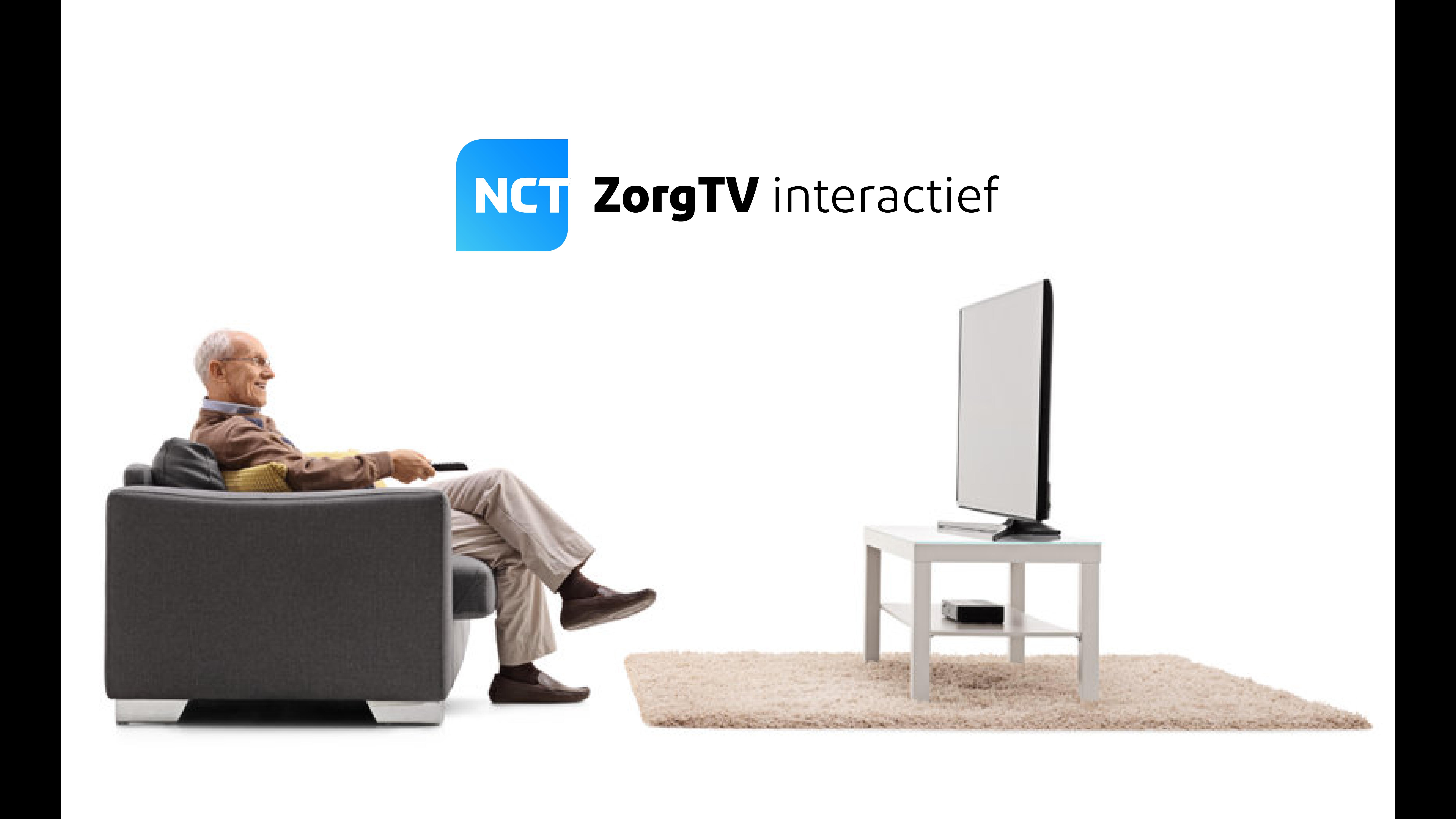 Interactieve televisie voor zorginstellingen.
