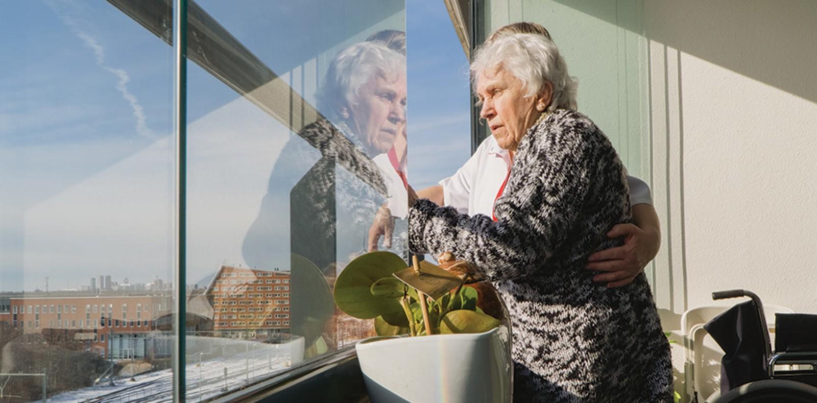 Kleinschalig wonen ouderen met dementie bij LucVal Care