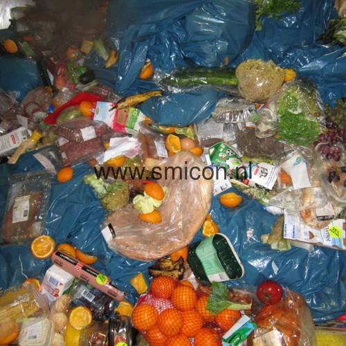 Ingaand supermarkt restproduct