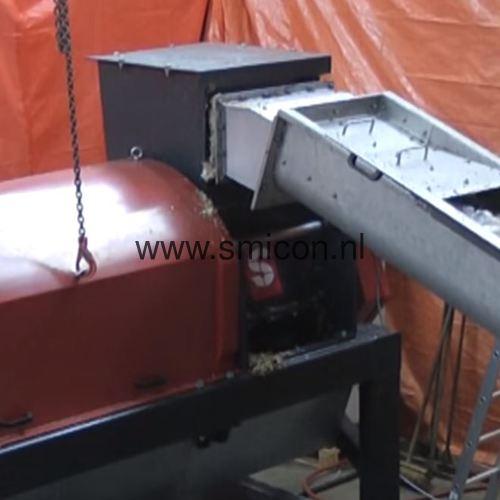 Verarbeitung von Lebensmittelrestprodukten mit ein SMIMO120