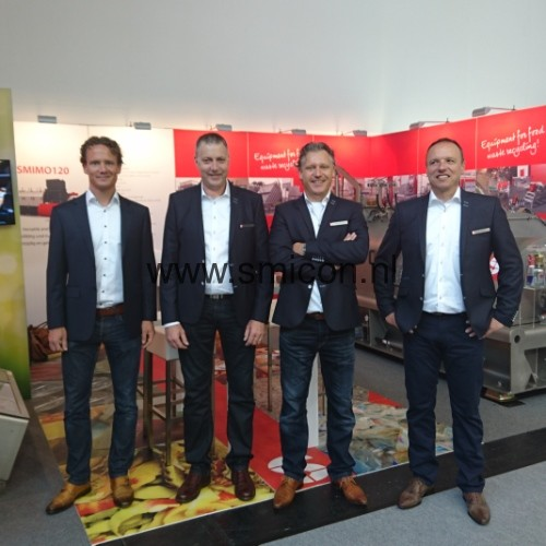 IFAT stand sales team