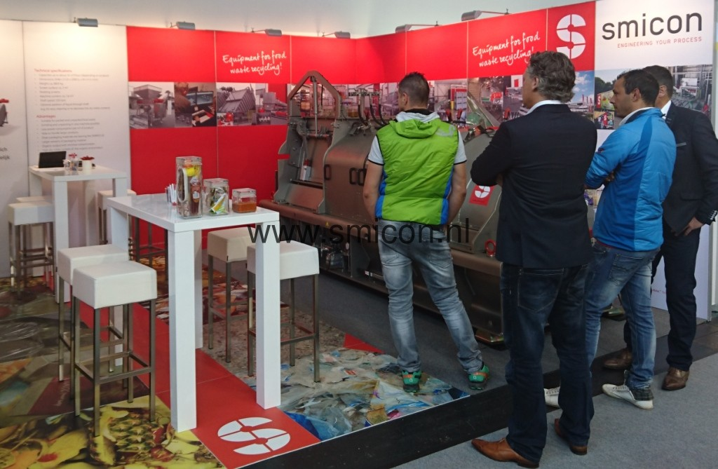 IFAT stand visitors
