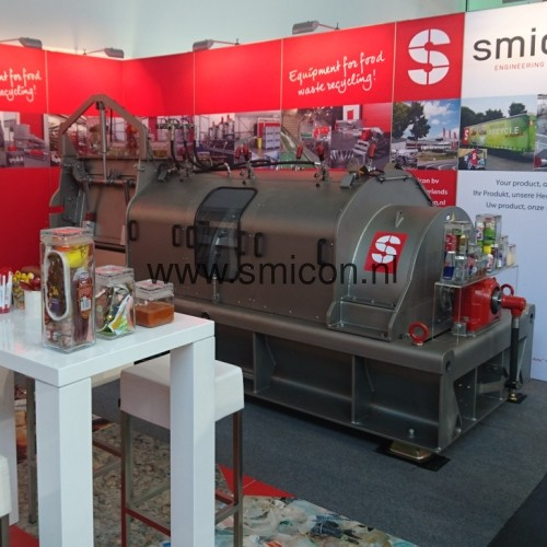 IFAT stand SMIMO120 RVS