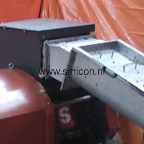 Verwerken van levensmiddelen restproducten met een SMIMO120