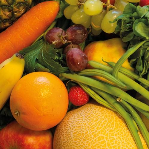 Aardappelen, groente en fruit