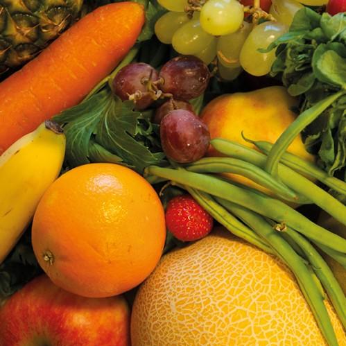 Kartoffeln, Obst und Gemüse