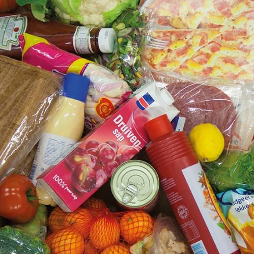(un)Verpackten Nahrungsmitteln