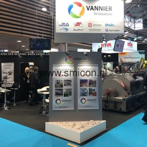 Vannier Tri Solutions presenteert Smicon-technologie