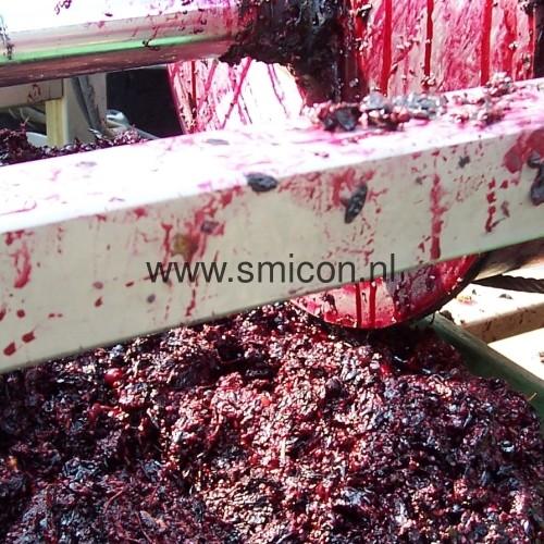 Fruit verwerking schroefpersfilter