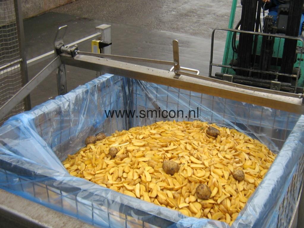 Aardappelproduct voor verwerking