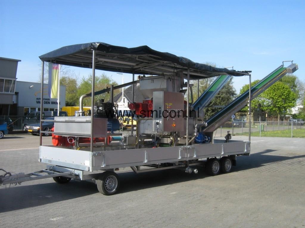 Mobiele MAS installatie mest bewerken