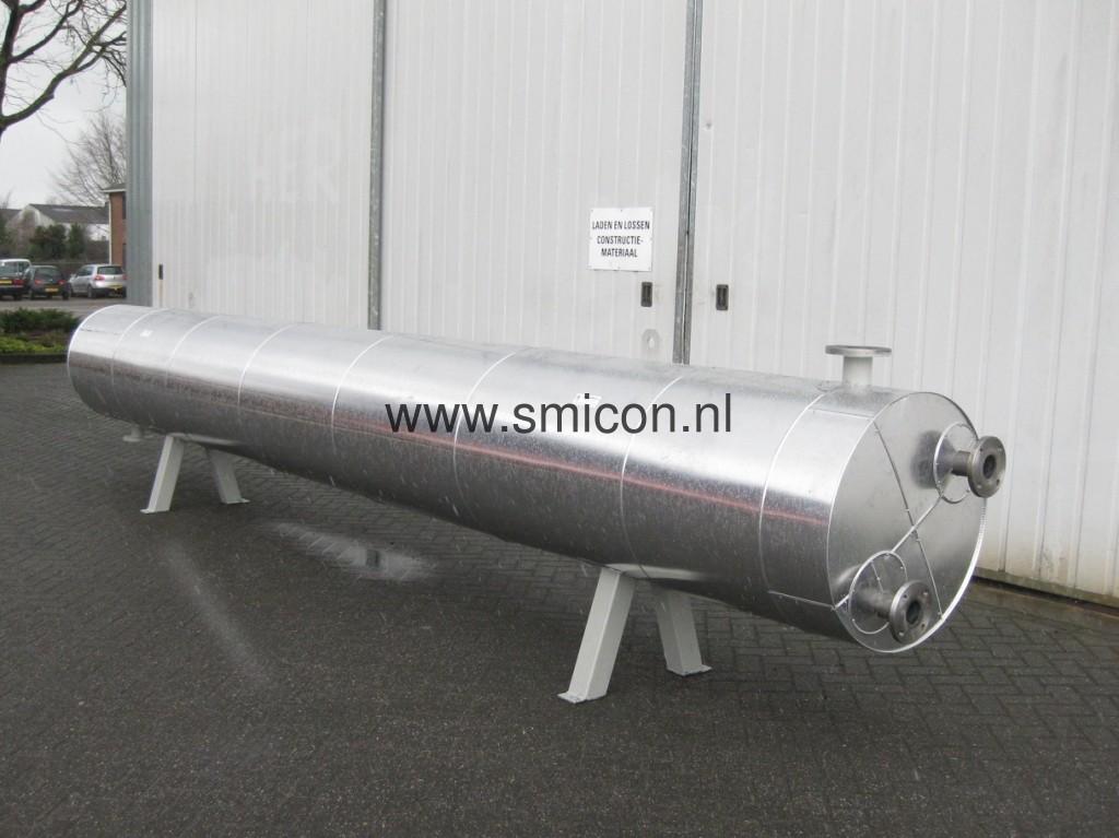 Warmtewisselaar digestaat biogas