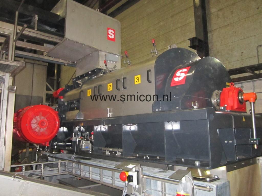 SMIMO120 installatie tbv verwerking levensmiddelen