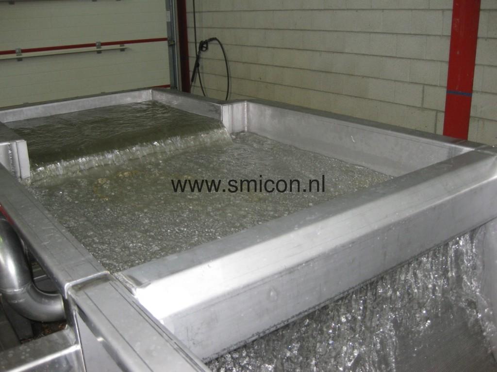 Hergebruik restwater reinigingssysteem