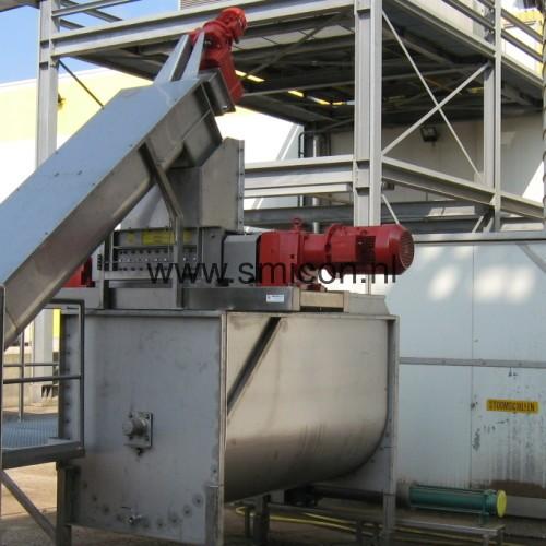 Shredder Recycling-installation