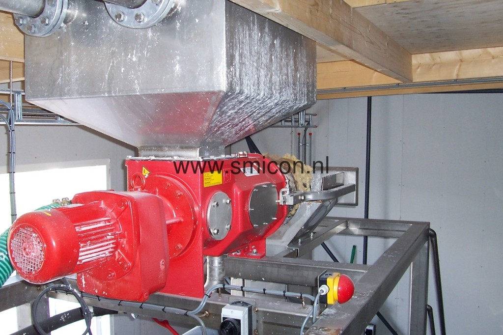 MAS filtration Schneckenfilter