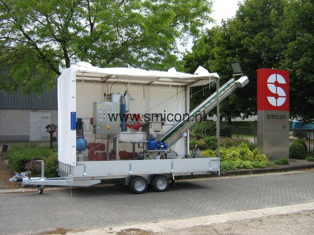 Mobile Installation MAS Schneckenfilter