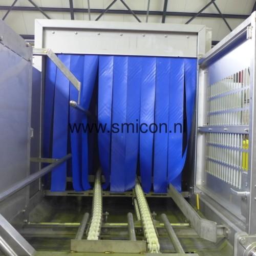 Invoer reinigingsinstallatie