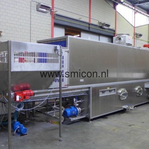 Wasinstallatie en filtertrommel