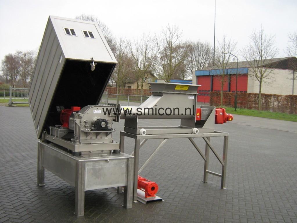 SMIMO Schneidemaschine gerauschisolierend