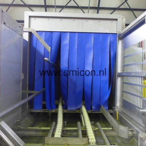 Einfuhr Reinigungsanlage
