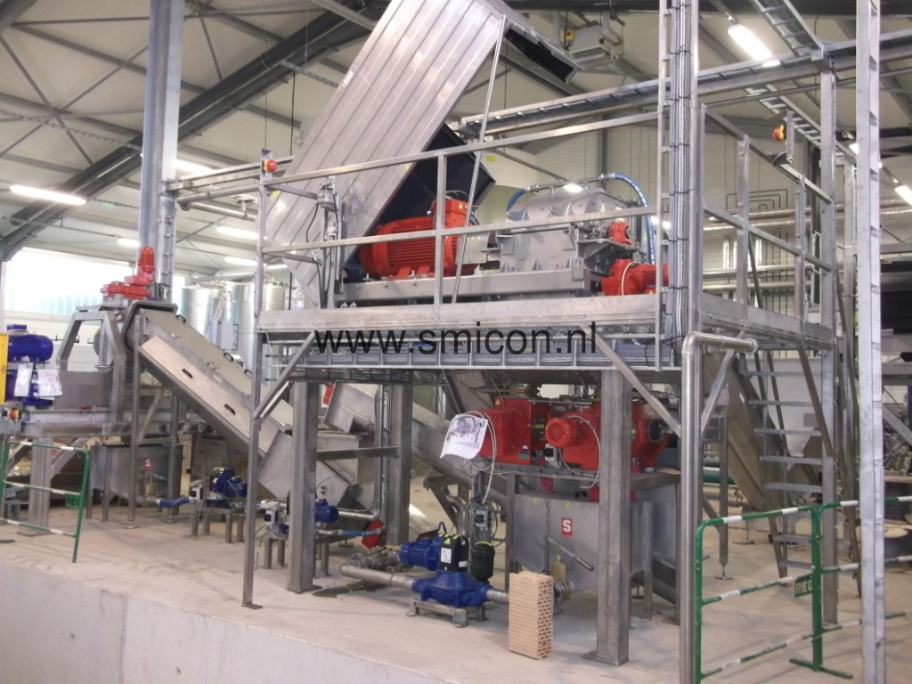 SMIMO30 installation for recycling foodstuffs