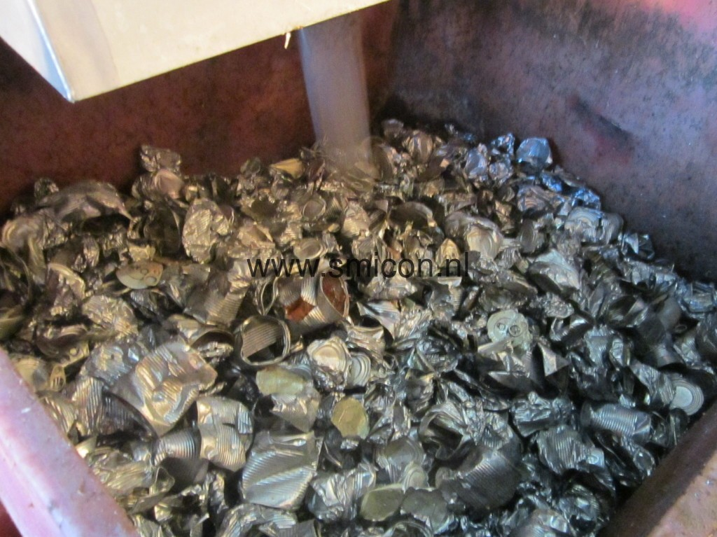 Export product cans after processing