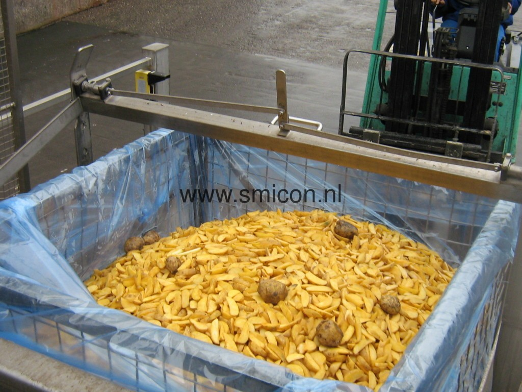 Potato product for processing