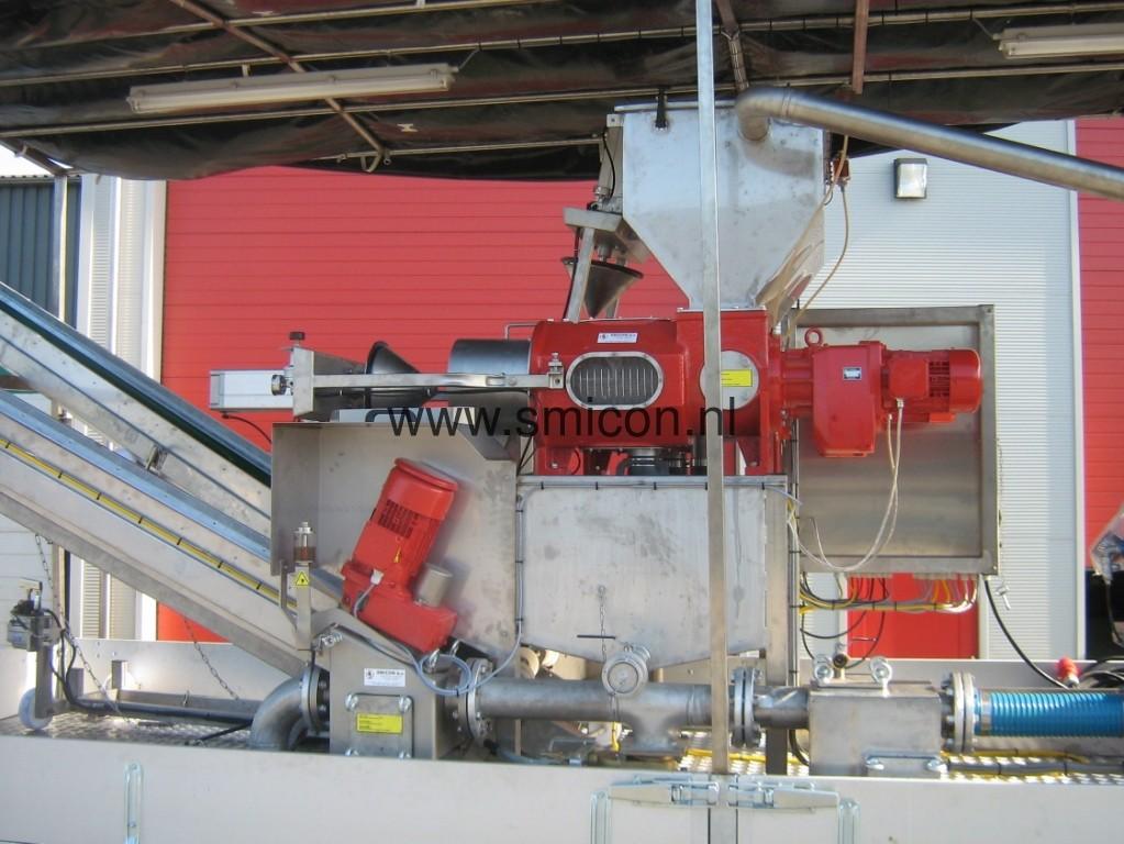 Filtration Gulle Filterschneckenpresse