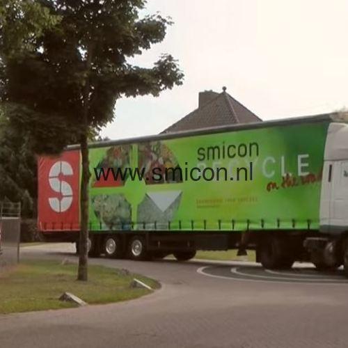 Film verarbeitung Lebensmitteln mit einen mobilen SMIMO120 Separator