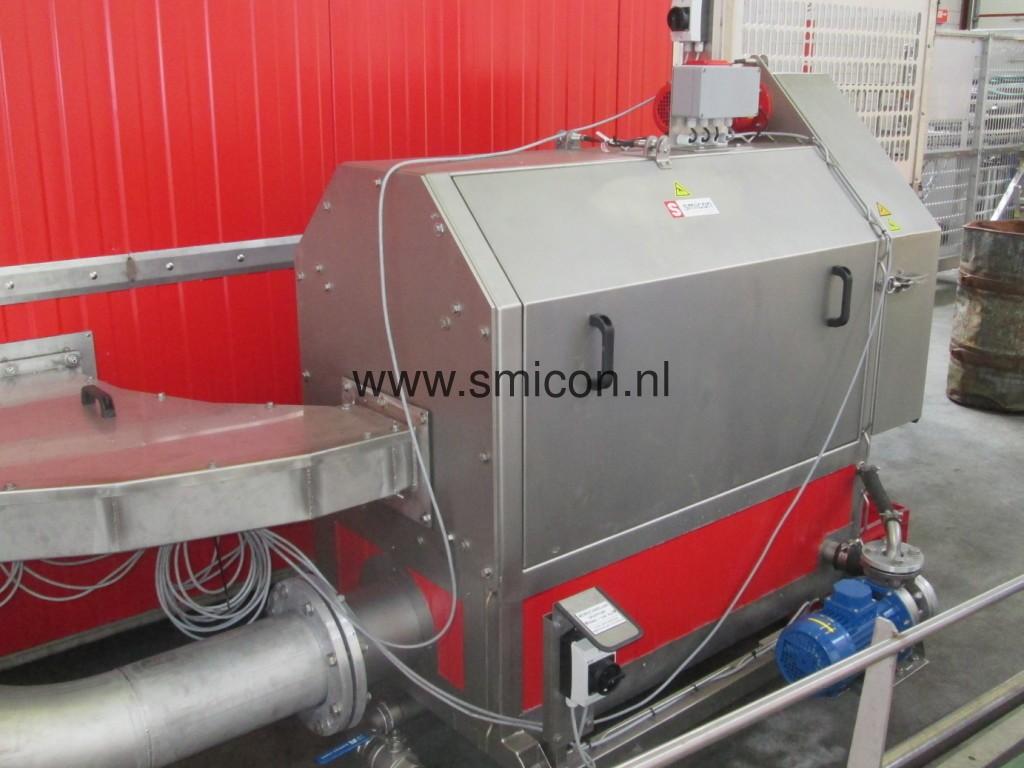 Filtertrommel säubern Spülwasser